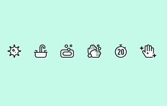 COVID-19: Font Awesome lança novos ícones para ajudar na conscientização sobre como prevenir e combater o vírus