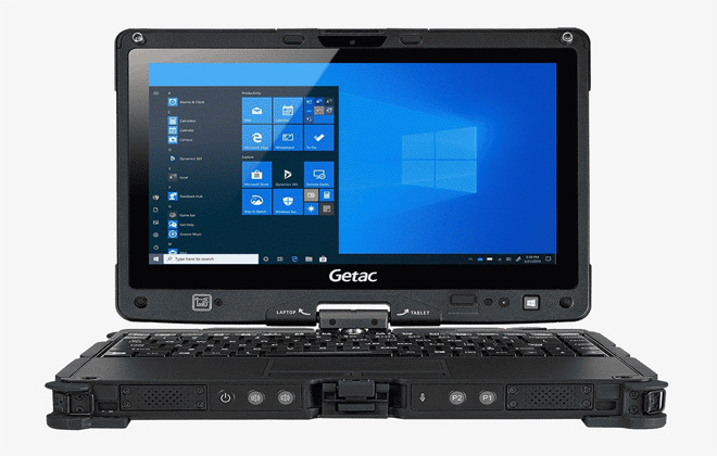 Getac apresenta nova geração do laptop robusto V110